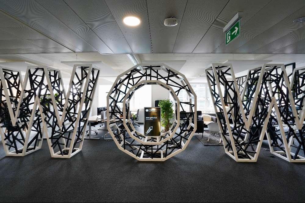 WOW – die neuen TMI-Büros im Herzen von Zürich.