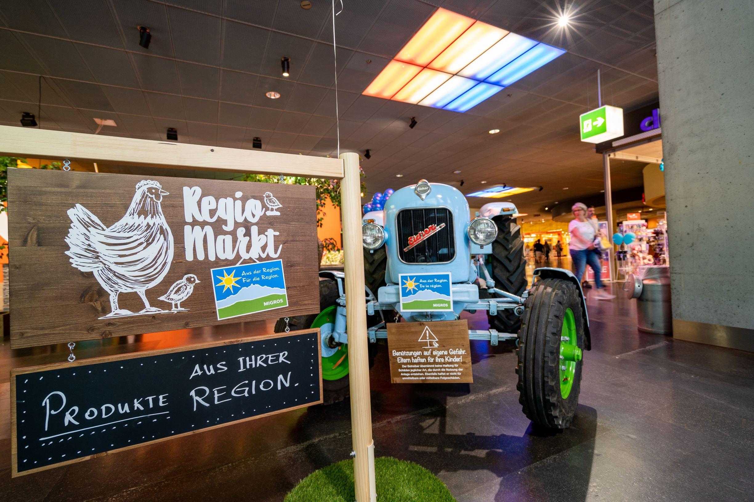 Einkaufen, Verweilen und Entdecken: der neue AdR «Regio-Markt»