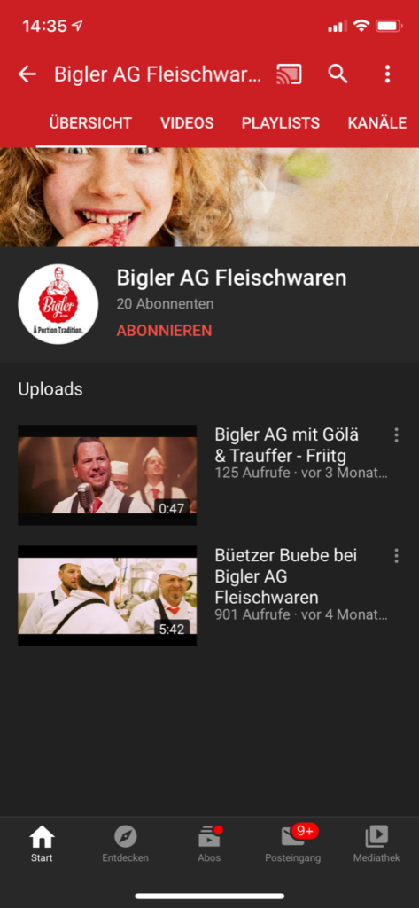 TMI_Bigler Youtube