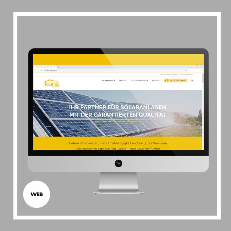 TMI_Projekt_Webseite Kunz Solartech